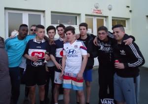 equipe ganante CFA avril 2016